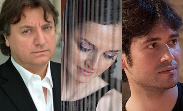 Luca Pianca, Margret Köll, Guillermo Pérez