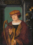 Hans Holbein the Younger (ca.1497-1498), Portrait of Johannes Zimmermann