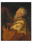 Peter Paul Rubens (1577-1640), König David spielt die Harfe (c.1616)