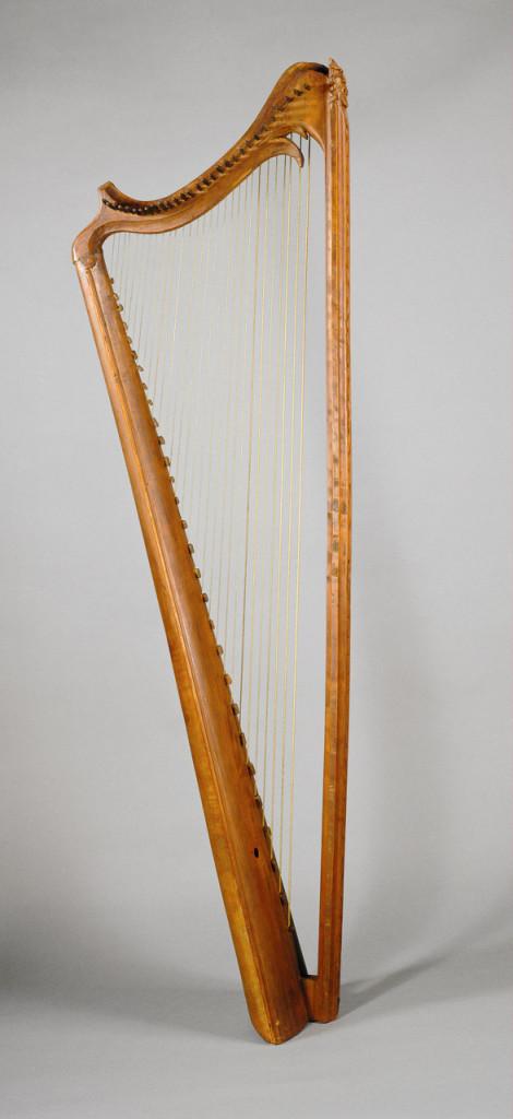 Renaissance Harp, Courtesy of Kunsthistorisches Museum Wien, Sammlung alter Musikinstrumente